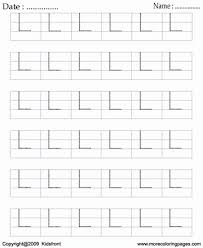 printable block letter dot to dots l coloring worksheets free