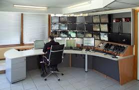 bureau de controle aer salle de contrôle supervision pc contrôle routier