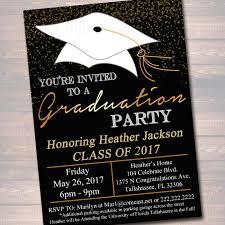graduation invite editable graduation party invitation high graduation