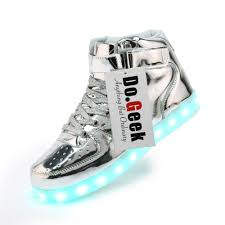 light up shoes gold high top dogeek high top men led shoes stylish light up shoes for adults
