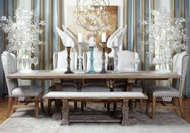 dining room modern dining room white leather upholstered bench