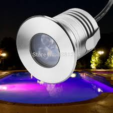 led underground lamp 3w 12v ip68 outdoor recessed deck floor