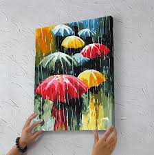 unique painting framed painting by numbers photo diy digital painting oil painting