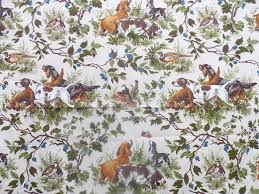 waverly home decor fabric vintage waverly home decor fabric field trial hunting dogs pheasant