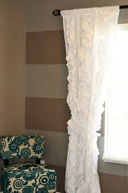 White Nursery Curtains by Best 25 Ruffle Curtains Ideas On Pinterest Ruffled Curtains