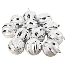 sale 12 pcs 8cm baubles balls decorations