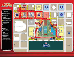 Austin Downtown Map by Downtown Discovery Green Super Bowl Street Closures Map Provided