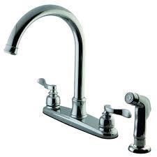 widespread kitchen chrome faucets price compare