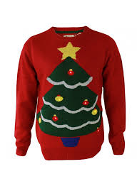 christmas tree jumper with lights novelty christmas tree jumper led red