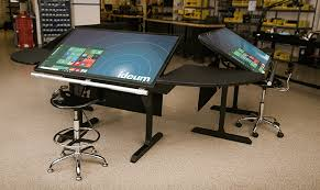 Commercial Drafting Table New Multitouch Desk Prototype Ideum