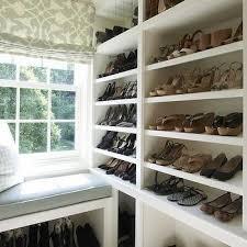 walk in closet shelves traditional closet bhg