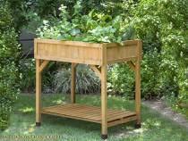 raised garden beds cedar raised flower beds u0026 potting tables