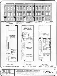 row home plans 67 best townhouse duplex plans images on family house