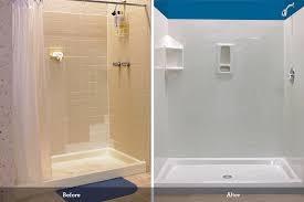 Bathroom Shower Wall Ideas Wall Surrounds Bathroom Remodeling Bci Acrylic