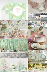 mint tea party online invitations and ideas for a sophisticated