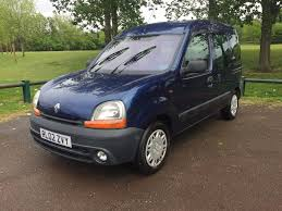 renault kangoo 2002 used renault kangoo authentique for sale motors co uk