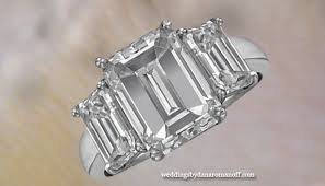 3 karat engagement ring 3 carat emerald cut engagement ring will certainly make your