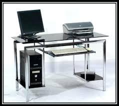 Tesco Computer Desk Found This Black Glass Computer Desk Images Navassist Me