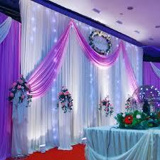 Background Decoration For Birthday Party At Home | wedding decoration 1 5 5m wedding silk satin fabric wedding birthday