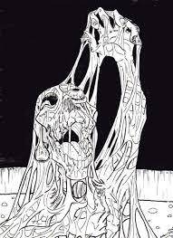 melted flesh by spirit halloween on deviantart
