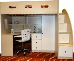 Desk Bunk Bed Combo Bunk Bed With Desk Dresser And Trundle Home Design Ideas