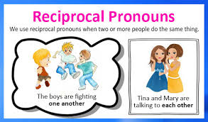 reciprocal pronouns definition examples and printable worksheets