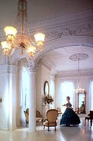 antebellum home interiors the white ballroom in nottoway the had several
