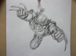 wolverine pencil sketch by aimzzart on deviantart