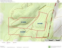 Bartow County Tax Maps 20 22 22 Acres Orchard Hill Rd Summerville Garrett Land Brokers