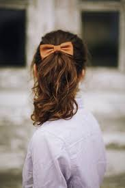 ribbon ponytail 5 easy ponytail styles to try today savoir flair