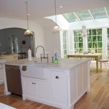 kitchen island ideas with sink kitchen island with sink and dishwasher and seating kitchen island