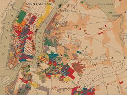 Map Of Nyc Neighborhoods Historic Map Shows The Manufacturing Industries Of 1919 Nyc 6sqft