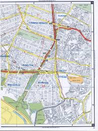 Road Map Of New York Ozone Park Road Map