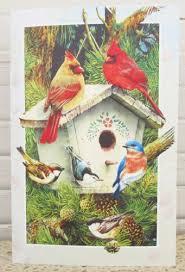 pumpernickel cards birthday greeting card cardinals chickadee bluebird bible