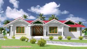 single floor house front elevation design india youtube