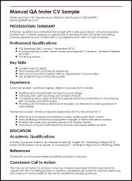 Policy Analyst Resume Sample by Manual Qa Tester Cv Sample Myperfectcv
