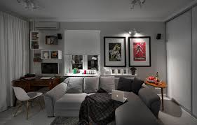 Apartment Awesome Decoration In Living Room Apartment With White by Apartment Living Room White Funky Staradeal Com