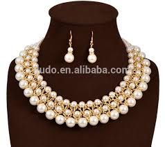 fashion pearl necklace set images Fashion heavy pearl necklace set multi layers pearls set buy jpg