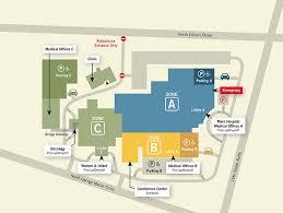 campus map virginia hospital center