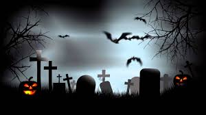 green halloween background halloween graveyard background after effects template youtube