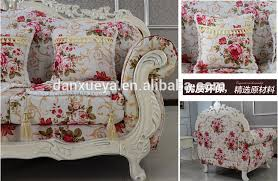 Print Fabric Sofas French Alibaba Used Patio Furniture Floral Print Fabric Sofa Buy