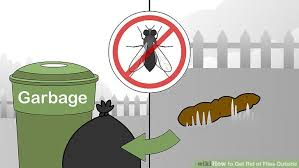 How To Get Rid Of Flies In The Backyard by How To Get Rid Of Flies Outside 15 Steps With Pictures