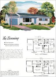 home plans luxury 1960s house plans mid century modern home plans unique ranch house
