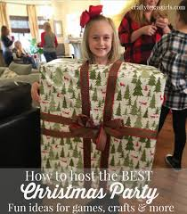 crafty texas girls christmas party ideas for kids games crafts