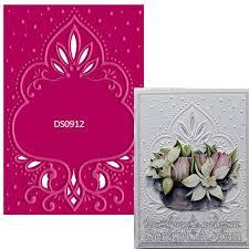 brand new marianne design designables romantic frame ds0912 rrp