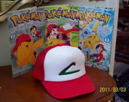 Ash Ketchum Halloween Costume Pokemon Trainer Costume Ash Ketchum Cosplay Hat U0026