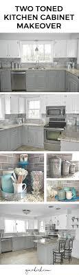 tile backsplash in kitchen our oak kitchen makeover dove white benjamin chelsea gray