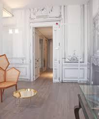 Trompe L Oeil Wallpaper La Maison Champs Elysees Modern Hotel Design Euro Style Home