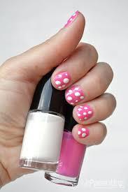 how to do polka dot nails