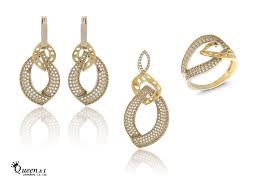 set of gold 18k gold small half set vfh0080 from i jewellery co ltd